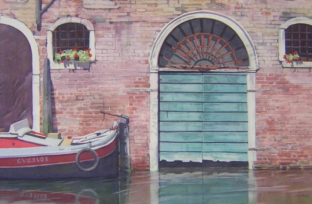 Arch, Venice - 27 x 42cms