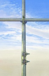 Scaffold cross - 70 x 45 cms