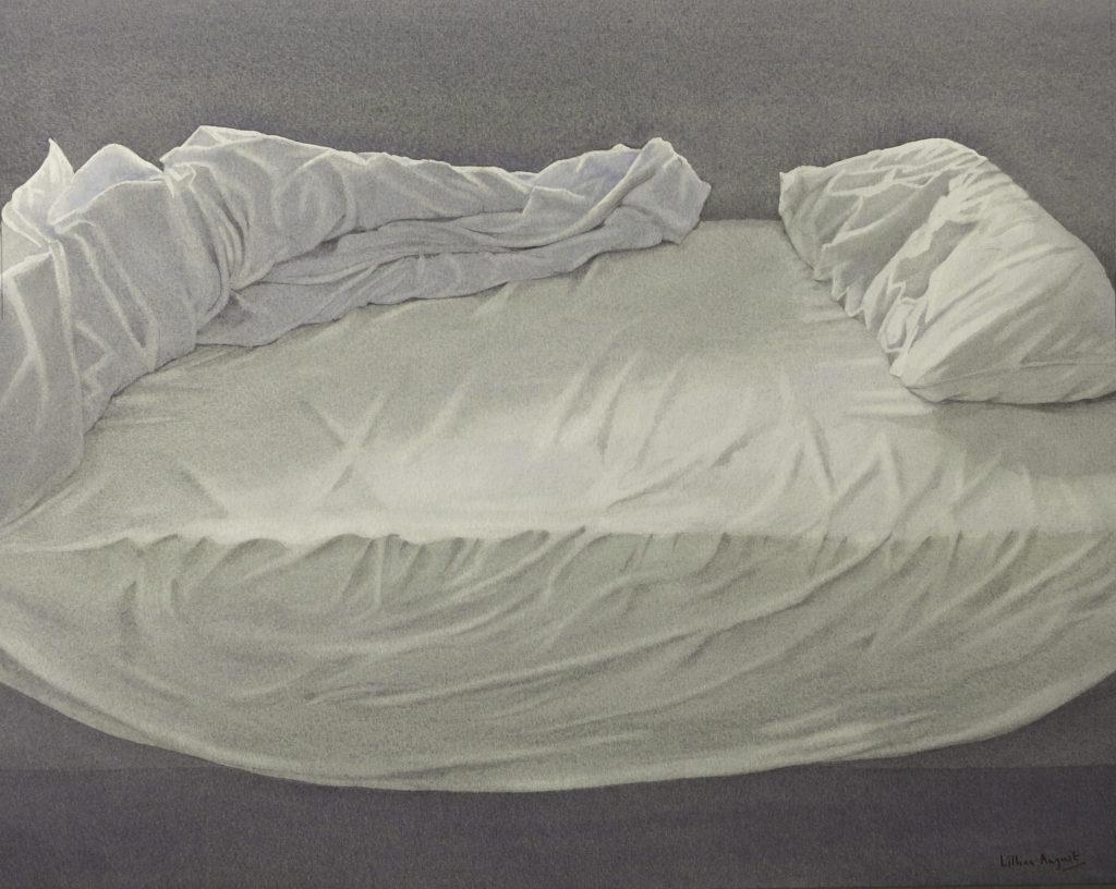 Empty bed II 33 x 41.5cm