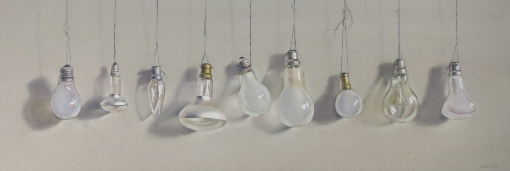 Hanging by a thread 30 x 90cm