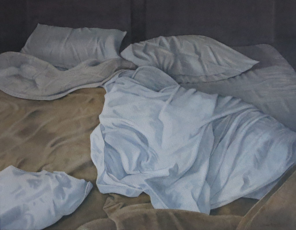 Unmade beds II 33 x 41.5cm
