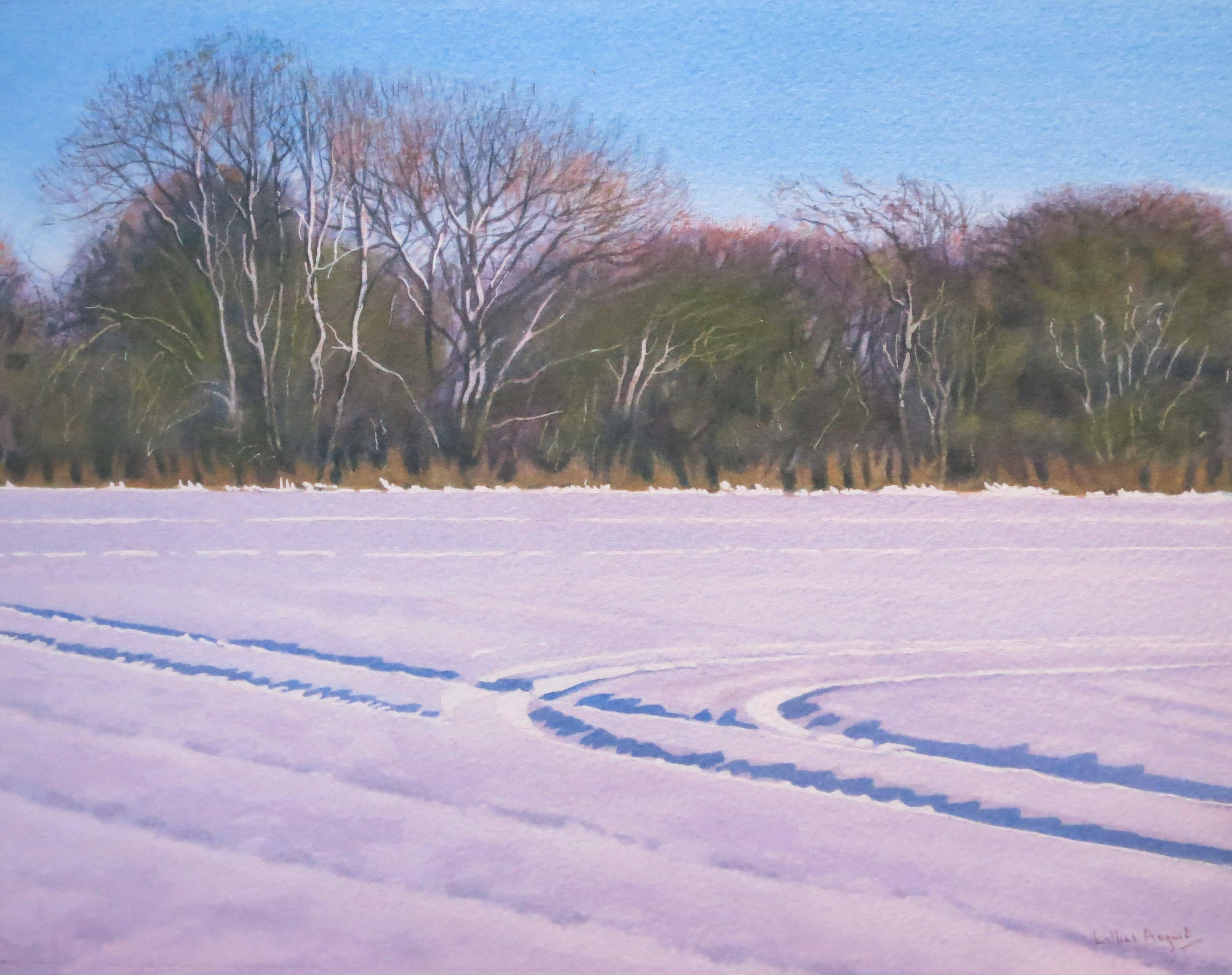 Winter birch - 23 x 29cm
